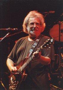 This is Jerry Garcia of the Grateful Dead
